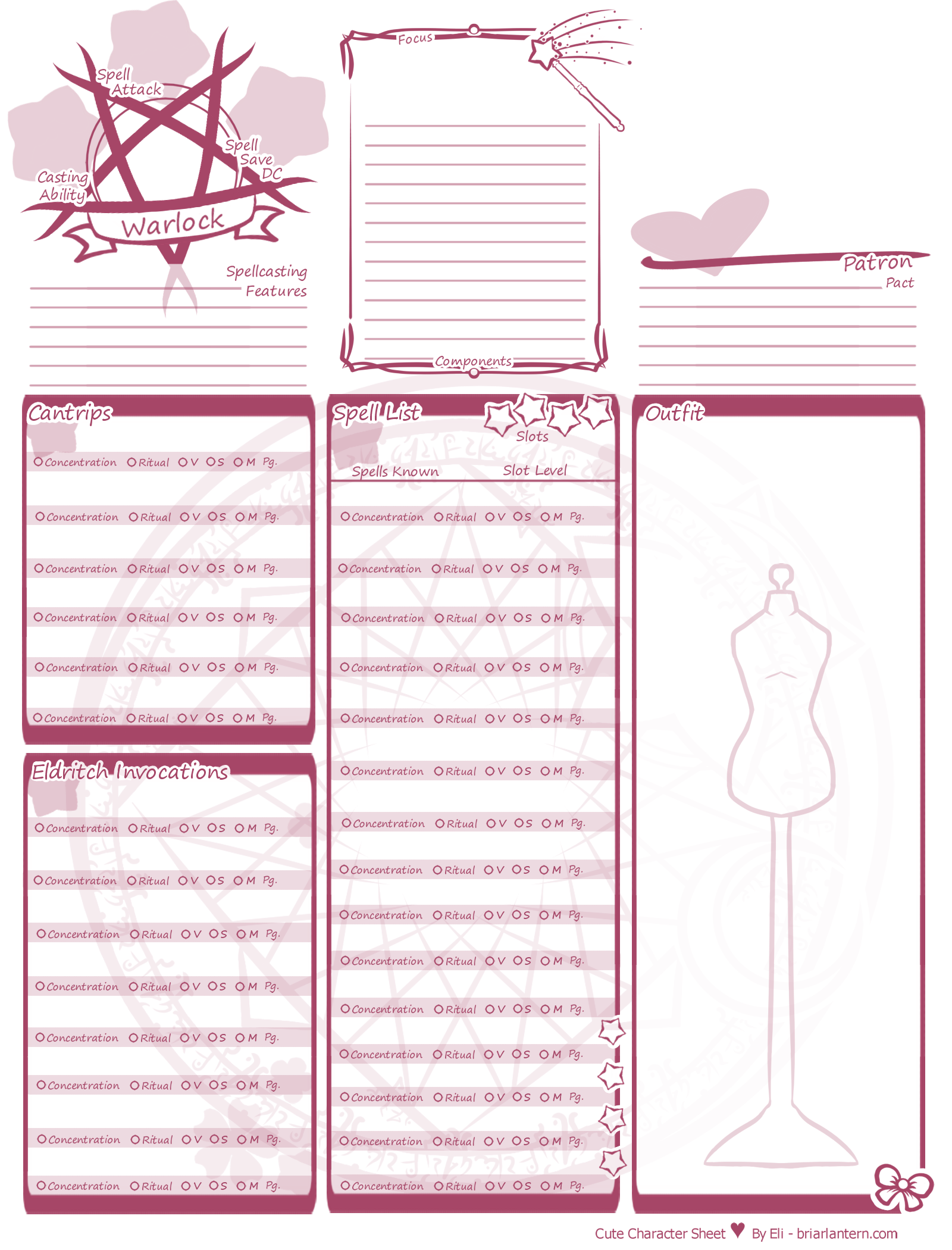 It's just a graphic of Dnd 5e Printable Character Sheet pertaining to old school